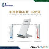 Alta calidad estable dos bobinas cargador inalámbrico rápido con la Caja de plata