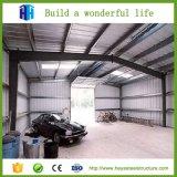 Estructura galvanizada prefabricada del marco de acero vertida para el estacionamiento del coche