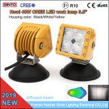 Jaune 40W 3.5'' Spot LED pour éclairage Caterpillar Chariot à usage intensif