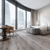 Clique Non-Slip WPC impermeável Lvt Spc Luxury pisos de vinil
