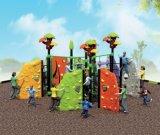 Openlucht Tiener het Beklimmen van de Combinatie Muur/Driedimensioneel het Beklimmen Speelgoed