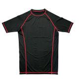 2018 Nouveau Style Fitness Sport T shirt Logo OEM Taille personnalisée Jersey Jersey de remise en forme de yoga