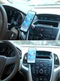 Caso de carga sin hilos con el cargador magnético del montaje del coche para el sostenedor del iPhone