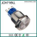 الكهربائية IP67 معدنية صغيرة زر تبديل من 12MM الى 25mm