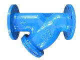 DIN/fundición de hierro dúctil y tipo de filtro (DIN 3202-F1).
