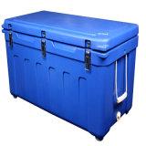 Le refroidisseur en plastique d'épaule enferme dans une boîte un cadre de déjeuner plus frais de forme physique