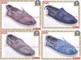 Chaussures de toile occasionnelles de mode de loisirs (SD6166)