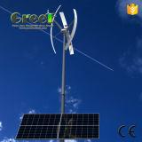 Home 600W Wind 1kw Système d'alimentation solaire hybride