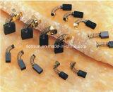 Щетка углерода частей електричюеских инструментов электрическая