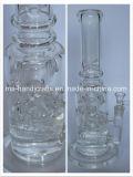 """tubulação de vidro do vidro de 16 """" tubulações de fumo das tubulações de água do Percolator Inline"""