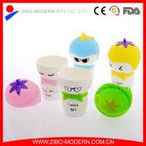 Custom Silicone Lidの白い骨灰磁器Custom Ceramic Mug