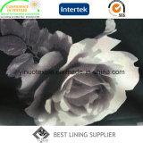 Klassisches Rosen-Polyester gedrucktes Futter für Kleid-Futter-Gewebe