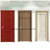 自然なベニヤの皮の贅沢な内部の木のドア