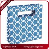 Fleur Bleue Eco Mod Sacs Papier de haute qualité un sac de shopping personnalisé pour marque célèbre