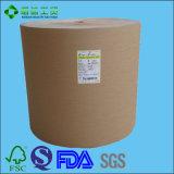 Nahrungsmittelgrad PET überzogenes Braunes Packpapier für das Verpacken