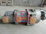 KOMATSU drehen hydraulische Zahnradpumpe 705-58-46001 der Ladevorrichtungs-Wa600-1-a