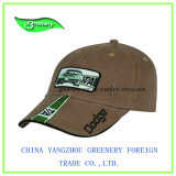 Mode d'armure sergé de coton d'olive applique Sport Baseball Cap