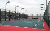 De pE-met een laag bedekte Omheining van het Netwerk van de Draad voor Tennisbaan
