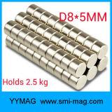 De Magneten van het Neodymium van de schijf voor Slim Horloge