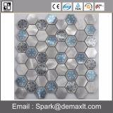 Мозаика синего стекла плиток мозаики строительного материала для плавательного бассеина