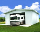 La luz de prefabricados de estructura de acero para el alquiler de garaje (KXD-110)