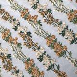Cordón clásico del bordado de la red de la alta calidad de la dimensión de una variable de la flor para los accesorios de la ropa