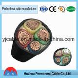 Yjv/Yjlv, Yjv22, Yjlv22, 4 aluminiums/câble d'alimentation électrique isolé par XLPE de cuivre de faisceau, faisceau multiplex, chemin de fer