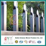 O PVC revestiu a cerca de piquete galvanizada do metal soldado da cerca da solda do piquete