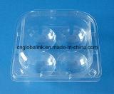 FigiのためのクラムシェルのPunnetのプラスチックフルーツの包装の容器4部分