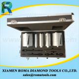 Romatools 다이아몬드 코어 드릴용 날은 를 위한 구체 돌 화강암 절단을 강화한다