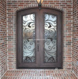 فولاذ منزل خفيفة برونزيّ يستعمل [ورووغت يرون] شبكة نافذة & أبواب