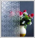 Cancelar o vidro de teste padrão de vidro figurado colorido do vidro modelado para o indicador /Door