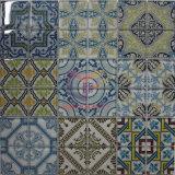 Il processo grigio del getto di inchiostro di colore ha fatto le mattonelle di mosaico di vetro per la stanza da bagno (CFC657)