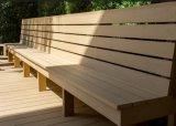 PE、木製のファイバー、添加物から成っているWPCの装飾的な木ずり