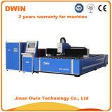 Machine de découpage en acier de laser de fibre de coupeur de laser en métal de la commande numérique par ordinateur Dw1325