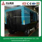 Compresor diesel grande de dos fases del tornillo de Kaishan LGCY-39/25-26/35 para la explotación minera