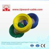 Le PVC a isolé le fil électrique de cuivre échoué par câblage de Chambre