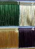 卸し売り高品質カーテンのためのより多くのカラーフリンジ
