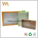 Plástico moda Caja de regalo con ventana transparente