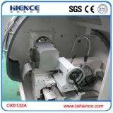 Torno pequeno Ck6132 do CNC para a estaca do metal da precisão