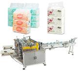 Het Bundelen van het Weefsel van Softpack de Machine van de Verpakking van de Pers van het Papieren zakdoekje