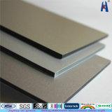 Material de construcción de revestimiento de aluminio Compuesto de Aluminio Lámina de plástico