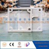 Plaque de plaque de Dazhang et de filtre de bâti pour l'asséchage de cambouis