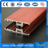 중국 최고 제조자 목제 창틀 양극 처리된 알루미늄 단면도