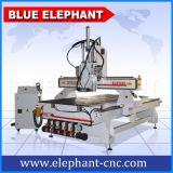 Ele1325 CNCの木版画のルーター機械3スピンドルCNCの木製のルーター機械