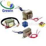 Transformateur stratifié E-I avec les fils de fil ou le support de carte