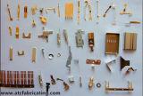 中国の部品の製造を押す部分の金属を押すこと