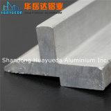 L'extrusion en aluminium anodisée par Matt argentée profile le profil industriel