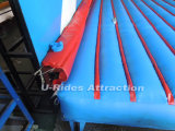 Jeux de sport gonflable mur de perforation mécanique de jeu avec matelas gonflable