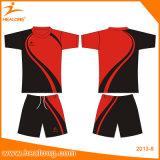 Camisa feita sob encomenda do desgaste do esporte do Sublimation de Jersey do futebol